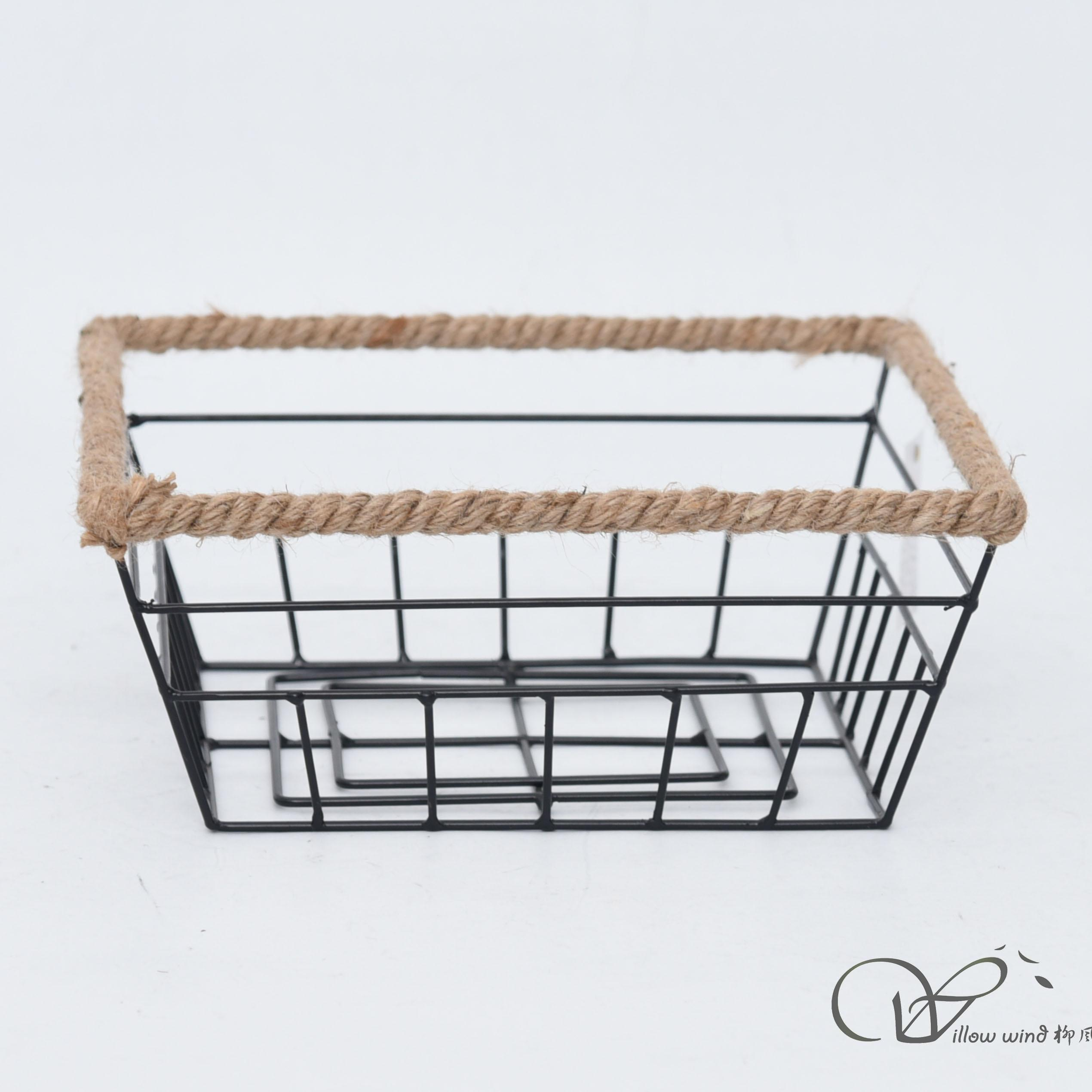 metal basket storage basket wire basket fruit basket table basket