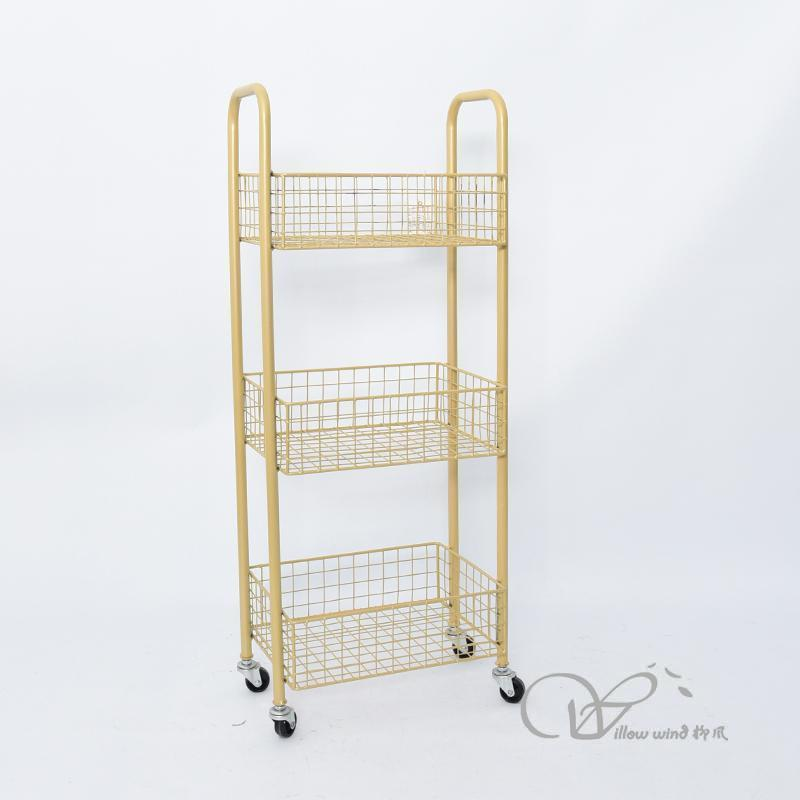Golden Iron cabinet side table night stand Storage cabinet