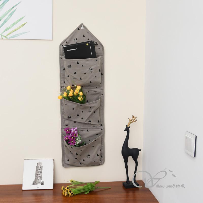 soft wall pocket organizerfabric wall pocket storage pocket wall pocket wall hanging organizer bag