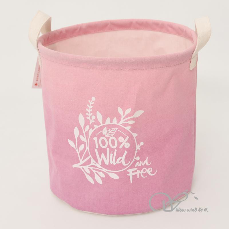 round storage basket table basket home storage folding laundry fabric basket