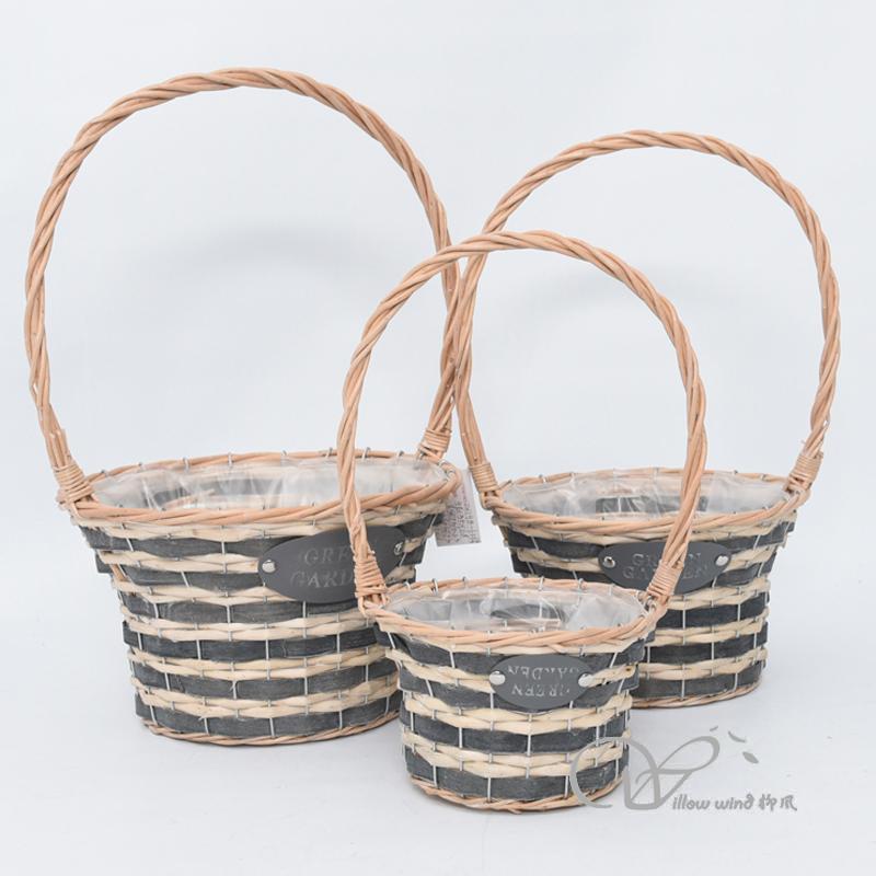 willow baskets garden baskets plant baskets outdoor plant baskets indoor plant baskets hanging baske
